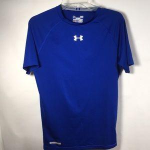 Under Amour Heat Gear Blur T Shirt